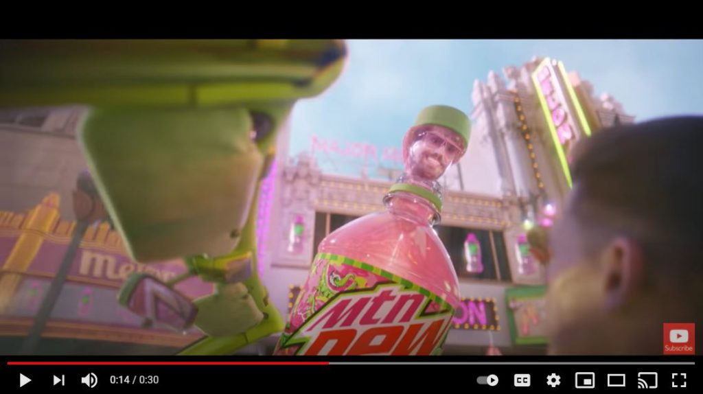 Mountain Dew - The Big Game Sells Big Brands